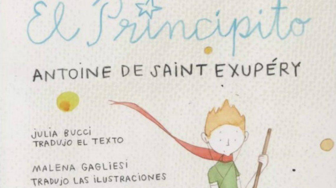 Ya se consigue en Argentina la versión de El Principito en lenguaje inclusivo
