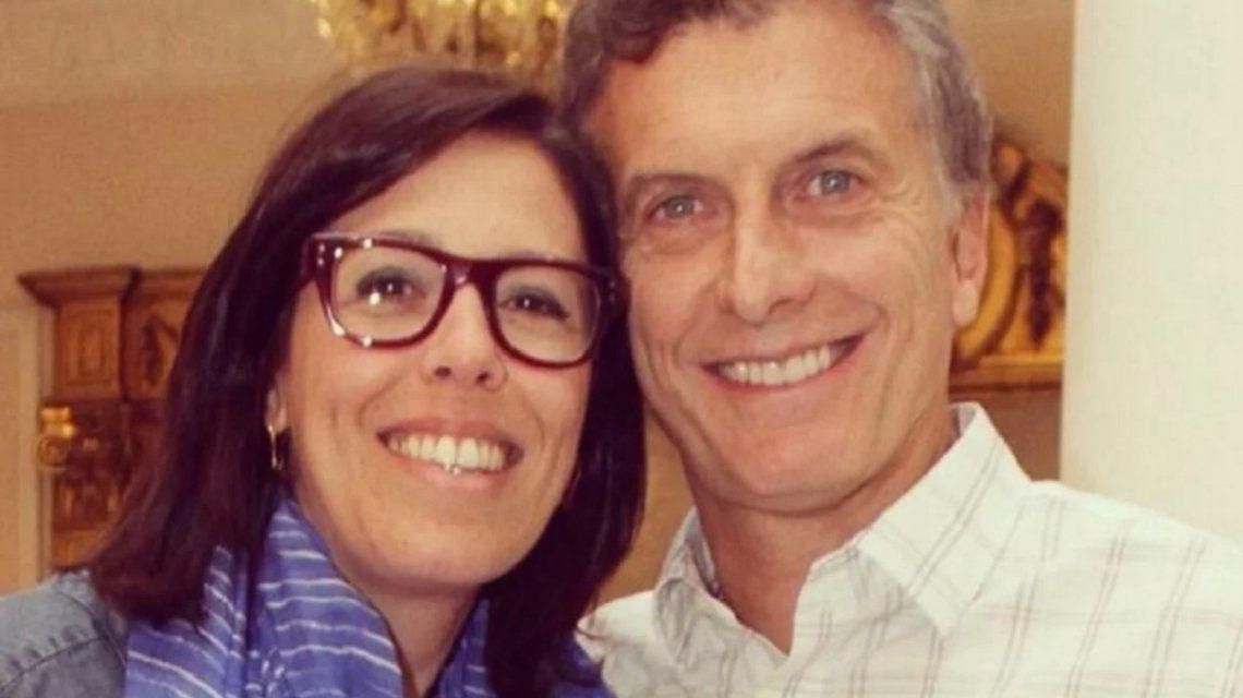 Laura Alonso con Mauricio Macri