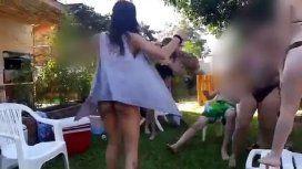 Fiesta sexual y escándalo por videos virales