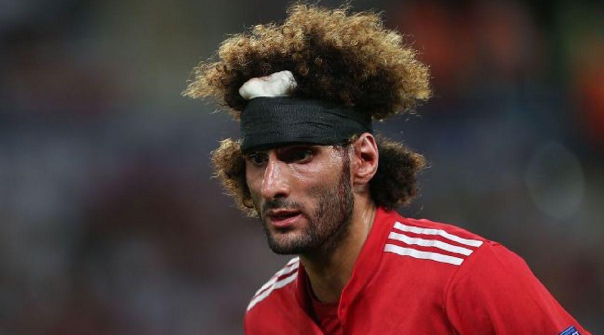 El belga Fellaini sorprendió a todos y le puso fin a su extravagante peinado