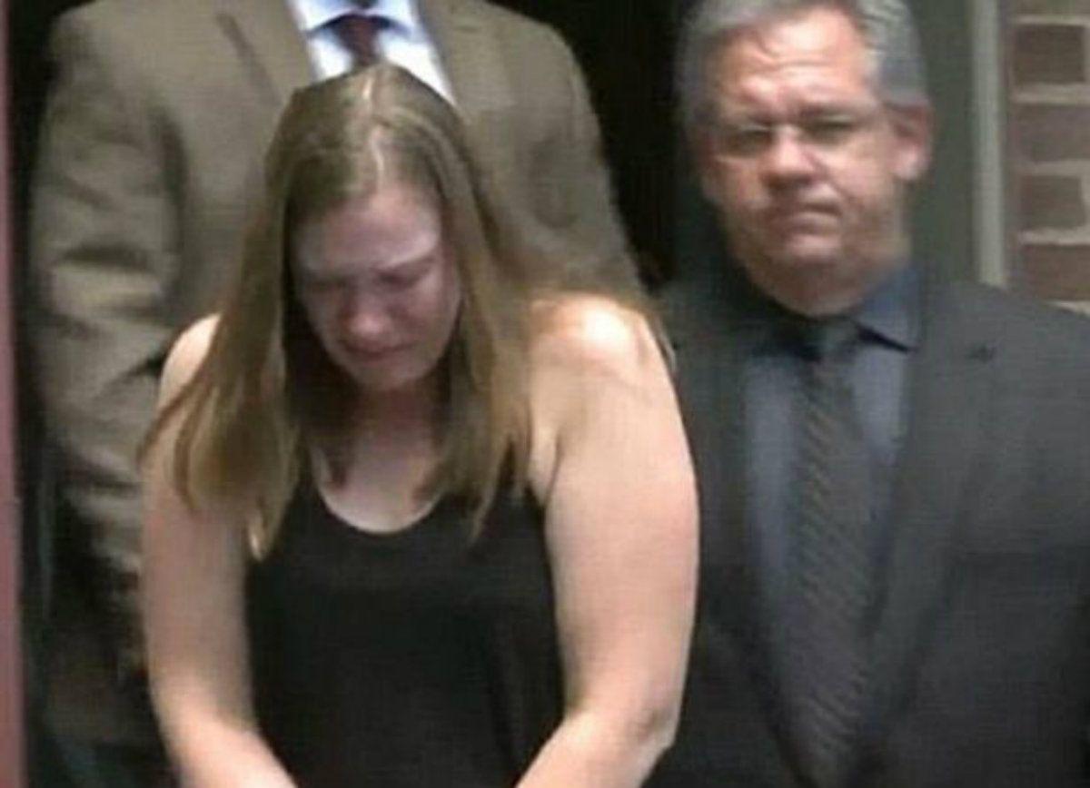 Brittany Borgess fue multada con $25 tras la muerte de su hijastra