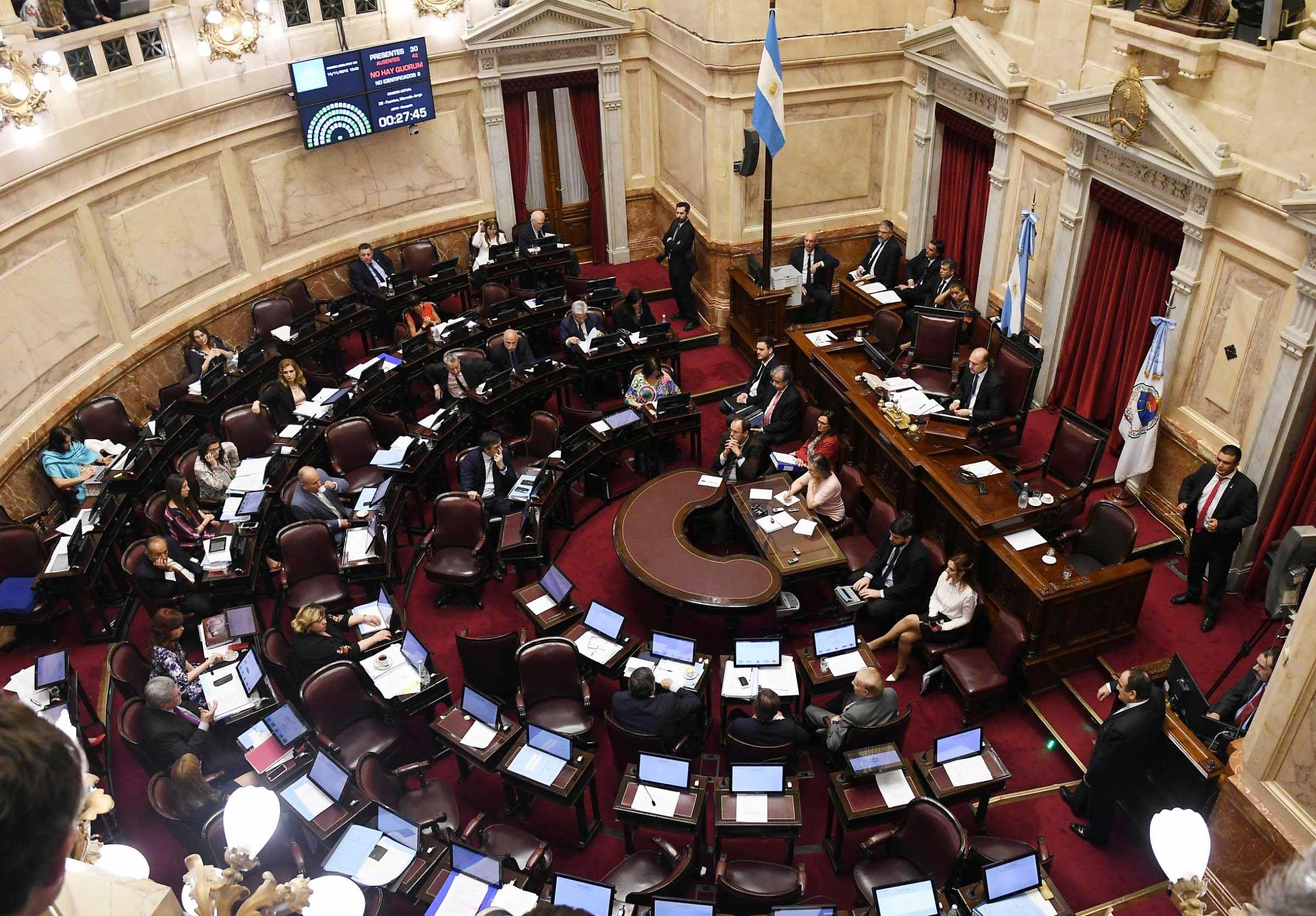 El debate por el Presupuesto 2019 comenzó después de las 14 horas