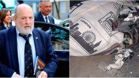 Arrojaron un artefacto en la casa del juez Claudio Bonadio
