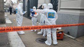 Personal de la Policía Federal Argentina actuó en la escena del ataque