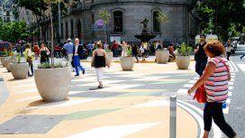Tribunales es zona peatonal y hay restricción de vehículos particulares