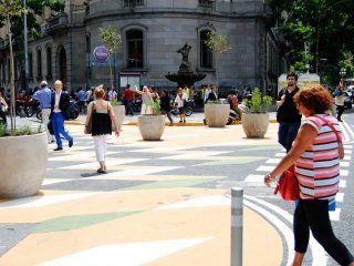 tribunales es zona peatonal y hay restriccion de vehiculos particulares