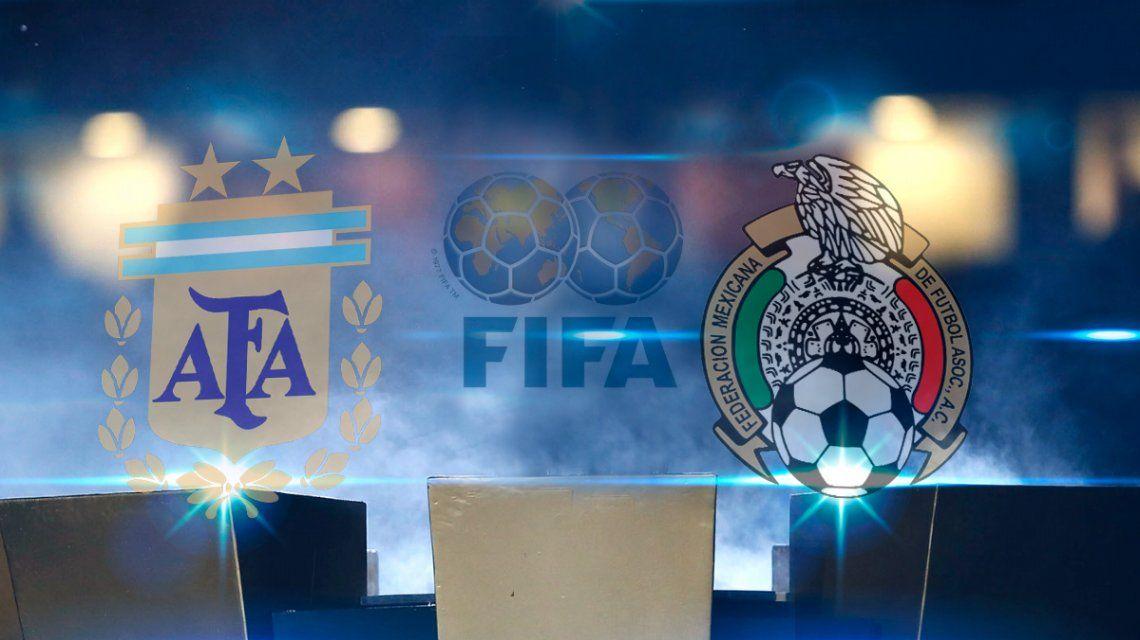 Argentina vs. México: horario, formaciones y TV