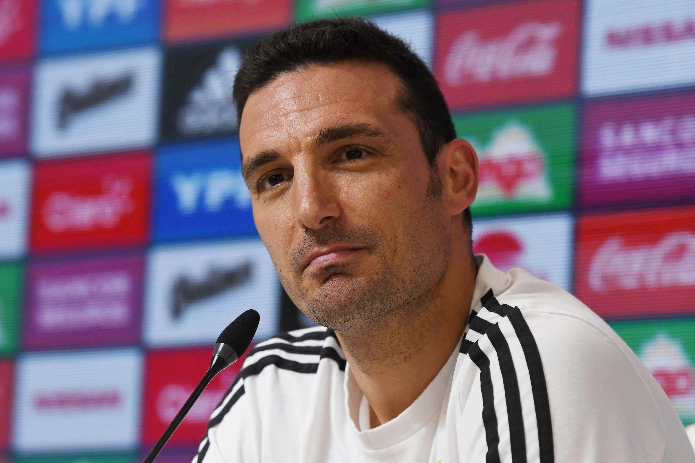 El equipo que parará Scaloni en la Selección para jugar ante México