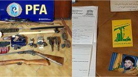 La Policía Federal incautó material relativo al grupo terrorista Hezbollah