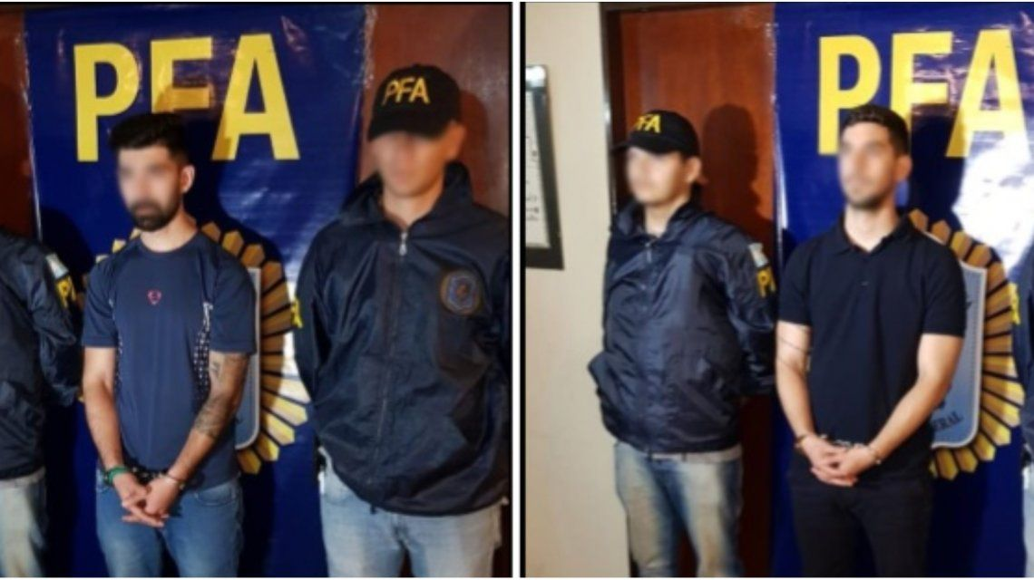 Axel Ezequiel Abraham Salomon y Kevin Gamal Abraham Salomon permanecen detenidos