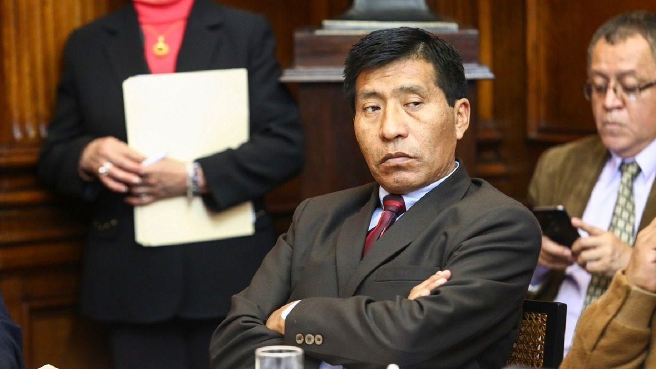 El congresista Moisés Mamani será juzgado por el Comité de Ética del Congreso