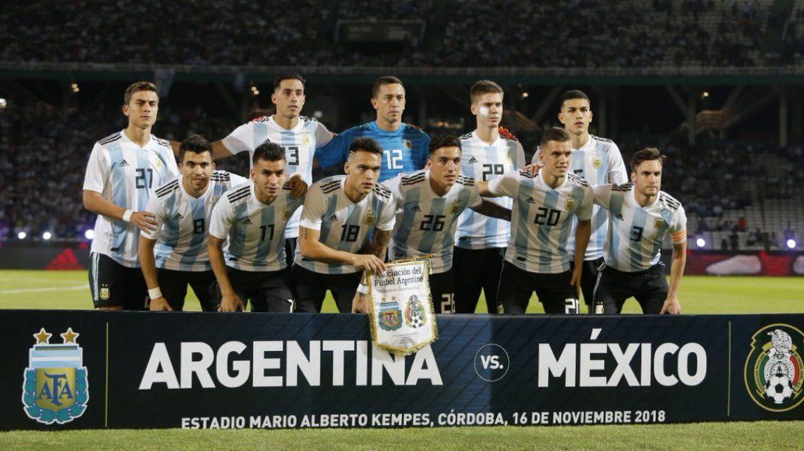La Selección argentina se mantiene fuera del top ten del ranking FIFA