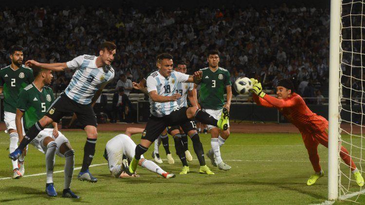 La Selección argentina juega el último partido del año frente a México en Mendoza