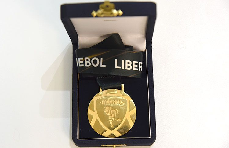 La medalla dorada para el campeón