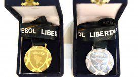 Las medallas que se entregarán después de la final de la historia