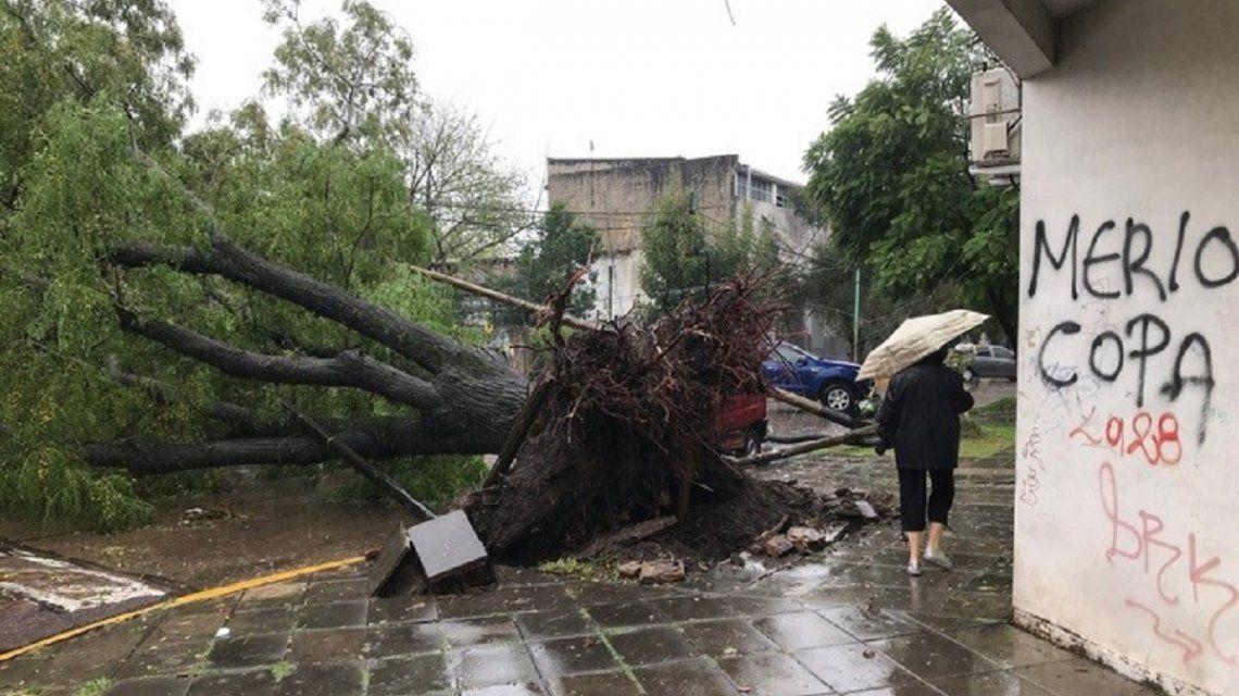 Alerta por tormentas y caída de granizo en la provincia de Buenos Aires