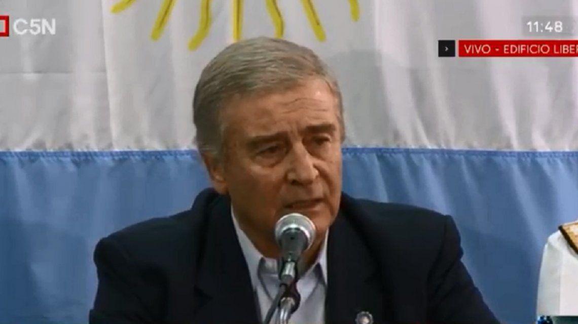 Aguad: No tenemos los medios para extraer el submarino