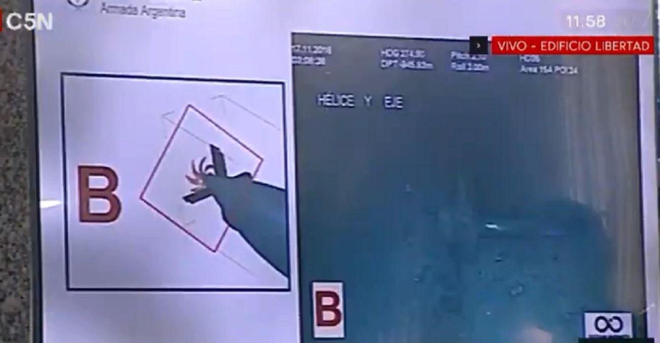 Las primeras fotos del submarino ARA San Juan: explotó muy cerca del fondo del mar
