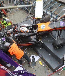 VIDEO: Terrible accidente de una piloto de 17 años en el Gran Premio de Macao