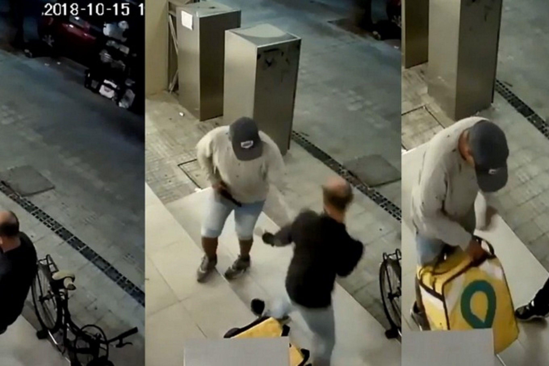 La Plata: motochorros balearon a un delivery en un intento de asalto