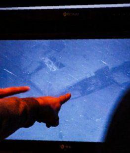 El momento en que Ocean Infinity halla al submarino ARA San Juan