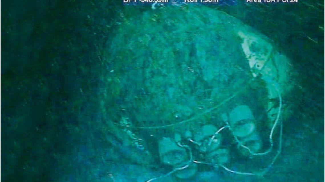 VIDEO: La reacción de los familiares de tripulantes del ARA San Juan al ver las fotos del submarino en el fondo del mar