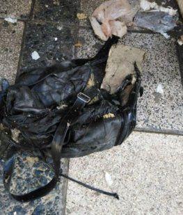 Detonaron una bolsa con pollos en Palermo