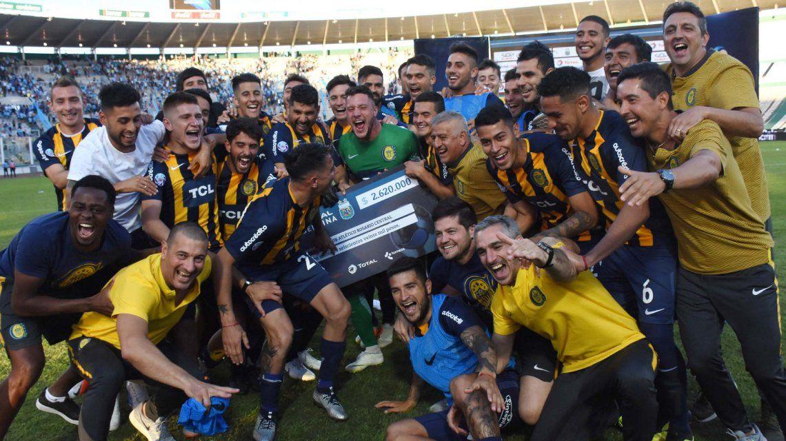 Rosario Central le ganó a Temperley en los penales
