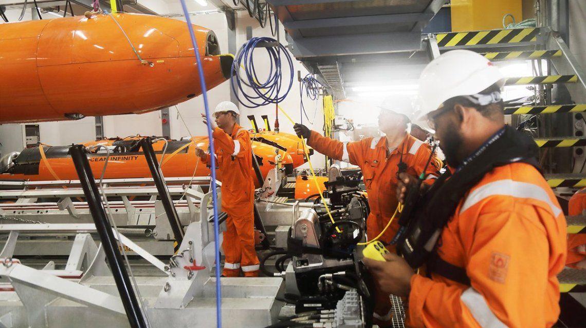 """Ocean Infinity: """"Nos complacería ayudarlos en la operación de recuperación del ARA San Juan"""""""