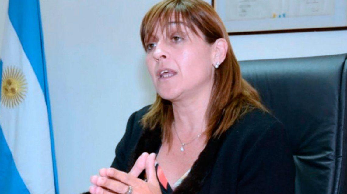 La jueza federal Marta Yáñez y el ARA San Juan