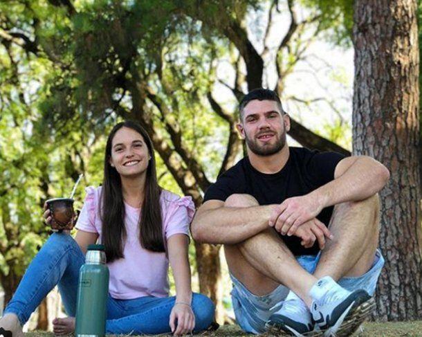 Marcos Kremer y Sofía Pozzi. Foto: Instagram