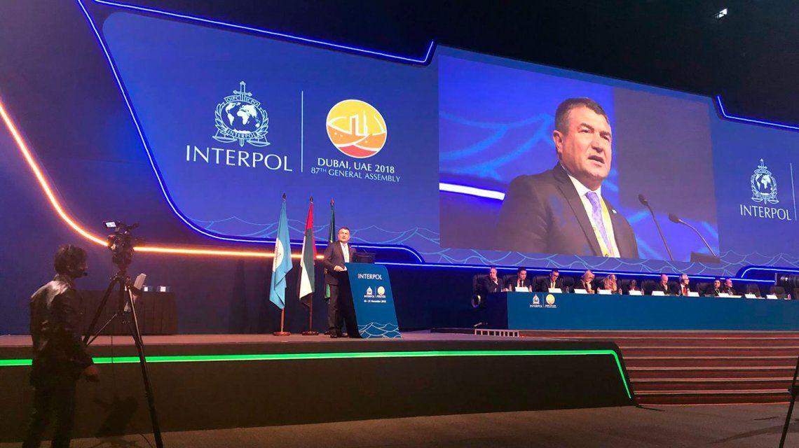 Roncaglia, desginado como vicepresidente por las Américas de Interpol