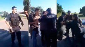 VIDEO: Brutal agresión de un policía a grupo de jóvenes en Pilar