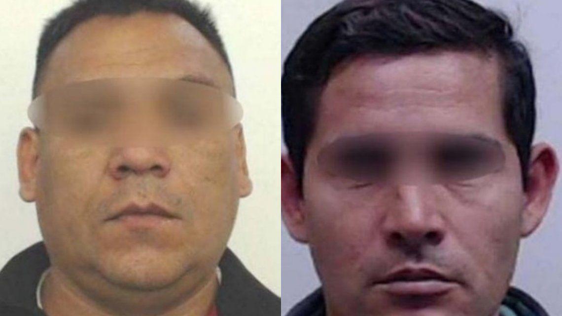 Los sospechosos fueron identificados comoLuis Alberto Fernández y Martín Cortez.