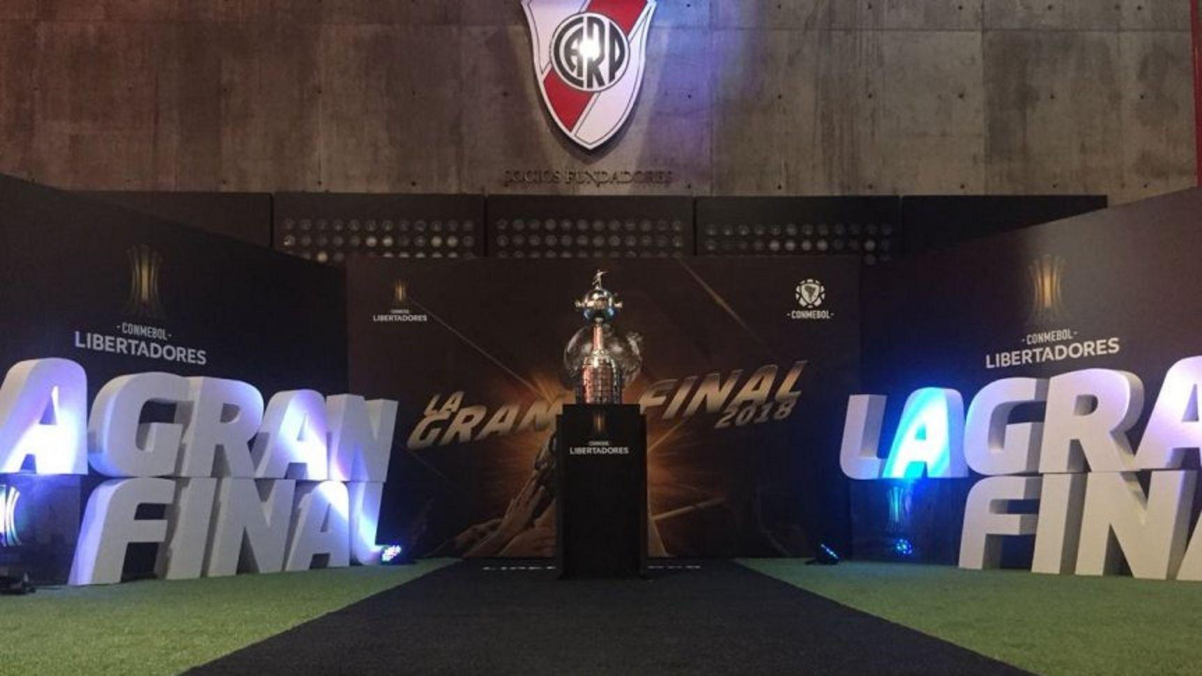 La Copa Libertadores ya está en el Monumental