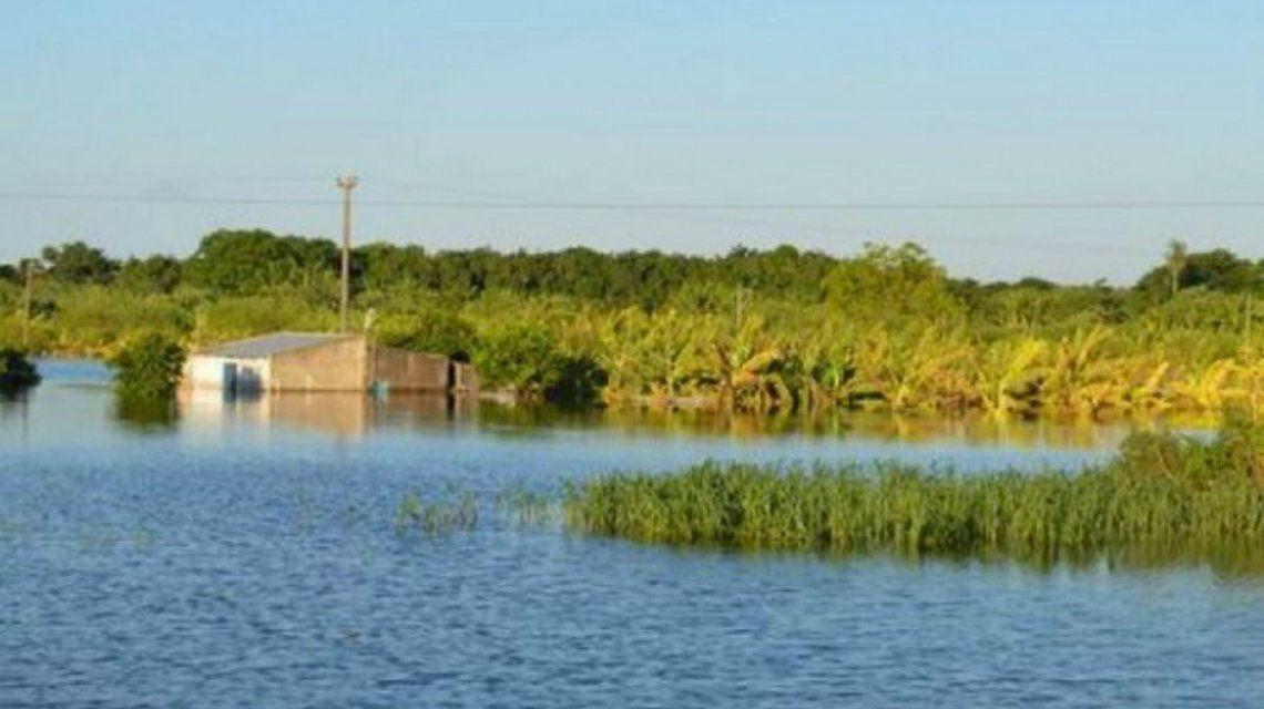 Gentileza Diario Formosa /Otra vez inundaciones en Formosa