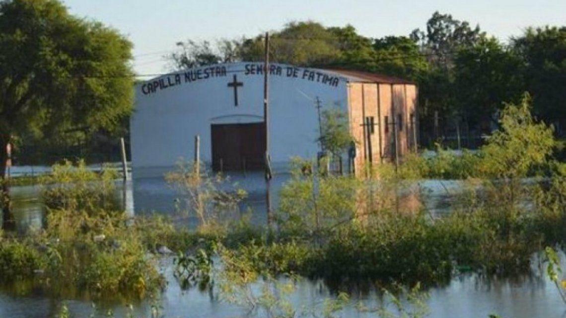 Gentileza Diario Formosa / Más de 200 familias fueron evacuadas por el avance del río