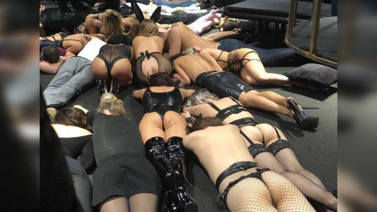 Misterio por el video de un allanamiento en un club sexual de Rusia: la policía dice que no hizo ningún operativo