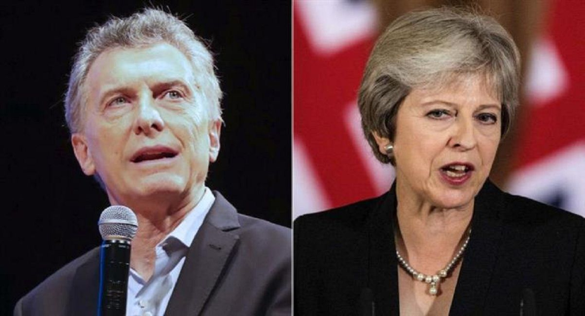Mauricio Macri y Theresa May