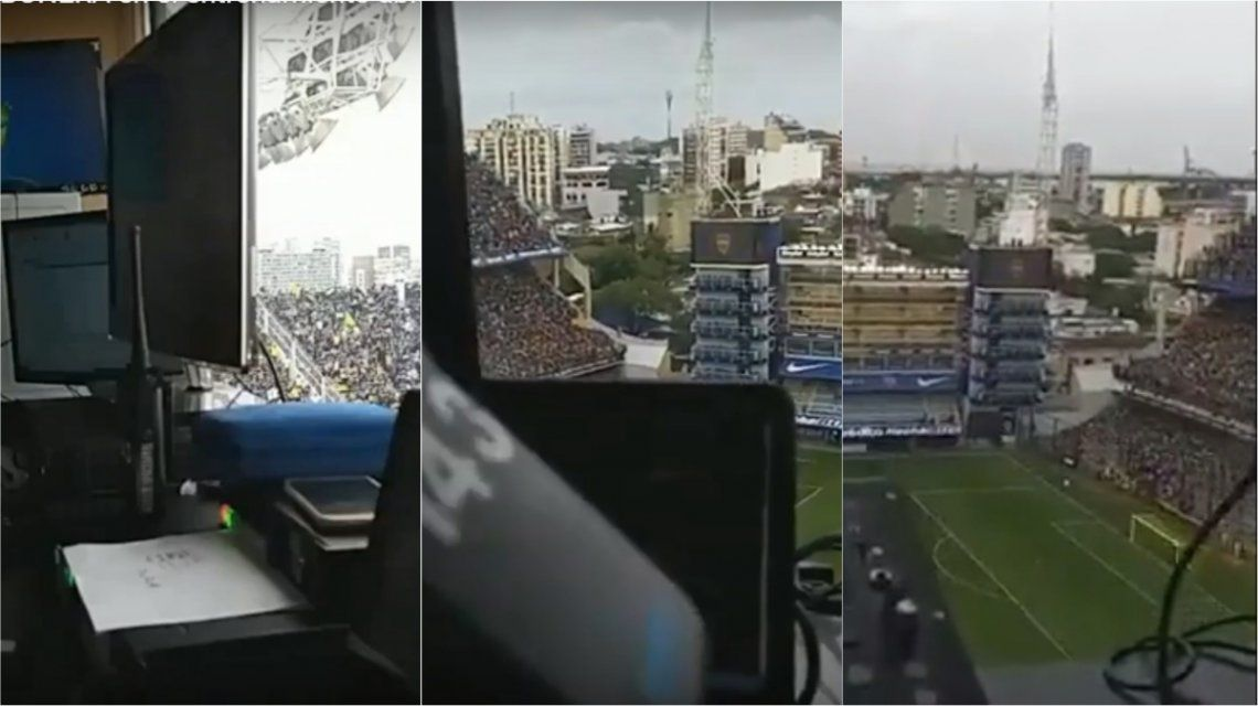 La Bombonera tembló en el entrenamiento de Boca