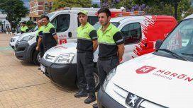 La primera base móvil de Defensa Civil del país está en Morón