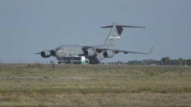 Sorpresa por un avión militar de Estados Unidos en el aeropuerto de Mendoza