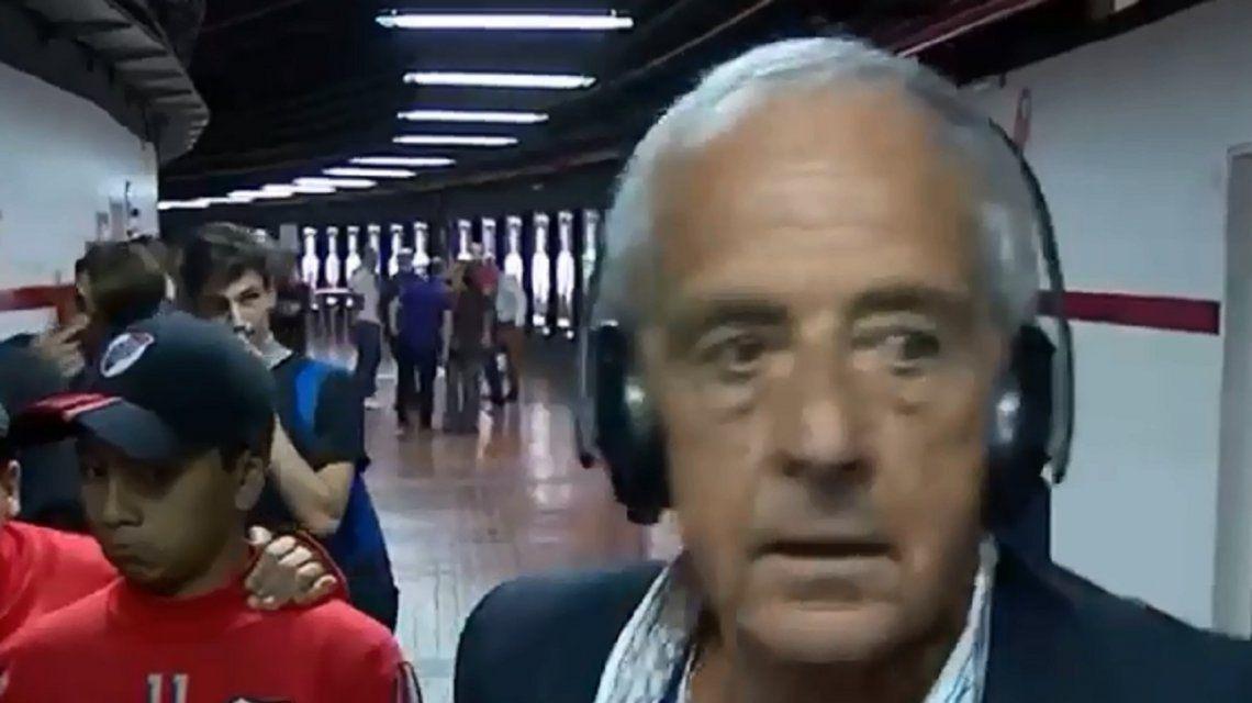 Rodolfo Donofrio debió resguardarse