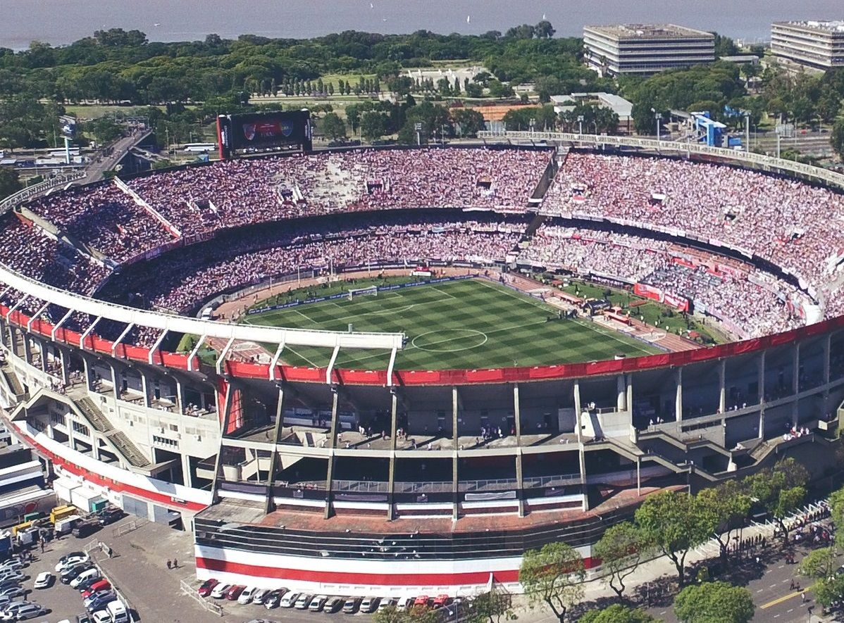 El estadio Monumental