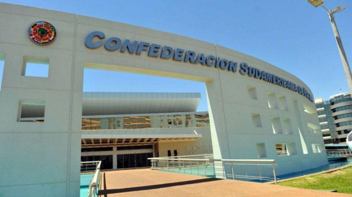 La sede de la Conmebol en Asunción