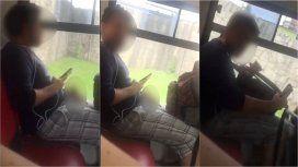 Escrachó a un hombre que se masturbó con ella en el colectivo