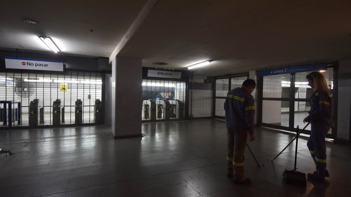 Terminó el paro de trenes, subtes y colectivos de este martes