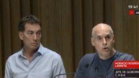 Larreta admitió que el operativo pudo haber sido mejor y pidió una ley contra los barras