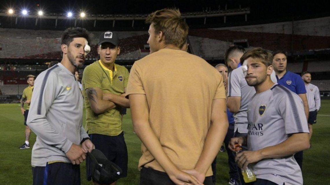 Superclásico: Pablo Pérez, Ábila y Tevez podrían no jugar la final
