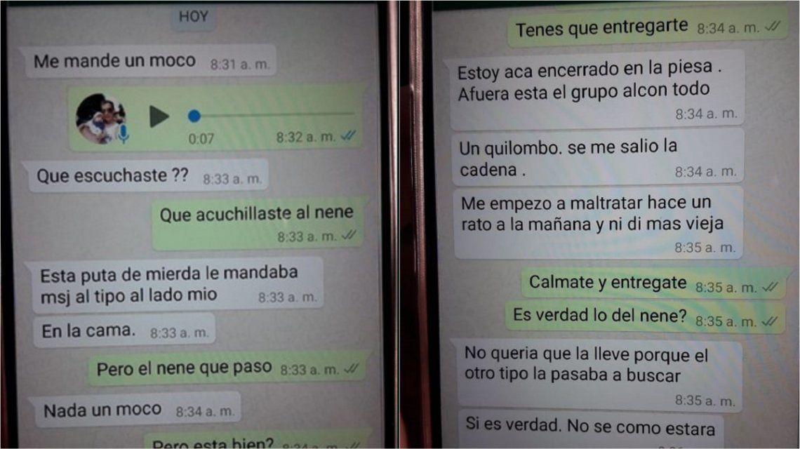 Chat de WhatsApp del asesino de Tolosa